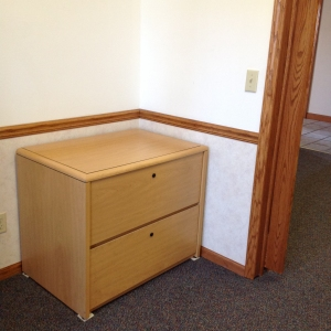 File Storage in Main Office Area - Private Office Suite A
