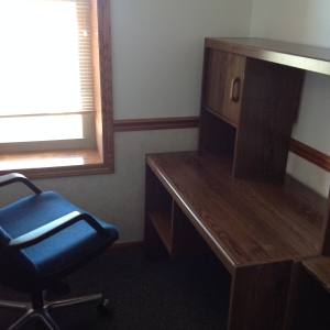 Work desk in File room Annex for Private Office A